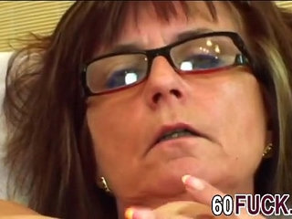 Granny bitch with glasses fucked by younger guyer man hi | bitchglassesgrannyold and young