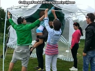 student party at the picnic | partystudents