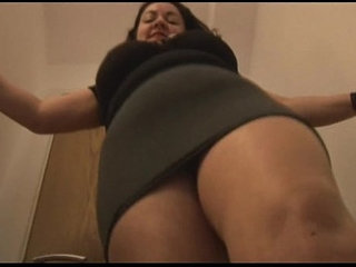 Big tits mature in crotchless pantyhose masturbates | big titsmasturbationmaturepantyhose
