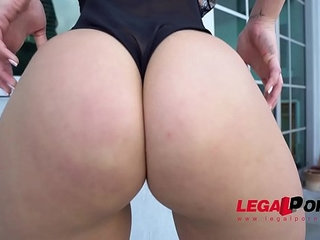 Fat ass booty from miami kelsi monroe first time dp on lp best fuck of her life | bootyhuge ass