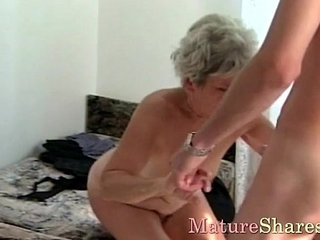 Mature female gets young cock | cockfemalematureyoung