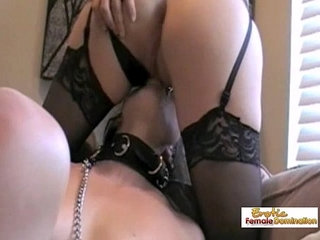 Angela nails her first slave role in an amateur femdom video | amateurfemdomfirst timeslave
