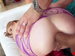 Oh, Sweet Arya Faye Gets both Holes Played with   sweet
