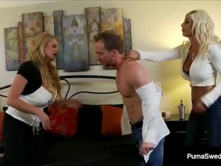 Busty babe puma swede and kelly madison fuck hubby in a way   bustyhubby