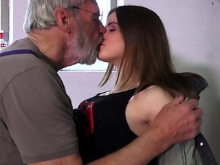 Such an innocent petite young pussy for an old horny hairy grandpa | grandpahairyhornyinnocentolderpetite