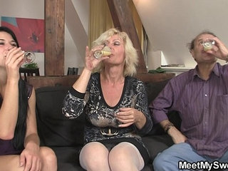 69 with his mom and riding old dads cock   cockdaddymomolderridingsixtynine