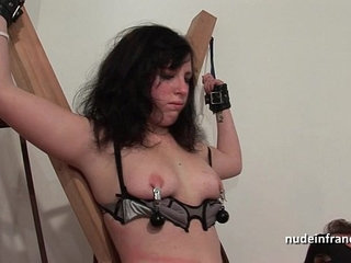 Young french brunette hard sodomized fisted and corrected in bdsm game   bdsmbrunettefistingfrenchgamesyoung