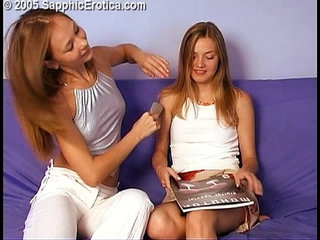 Angelique and Catherine lesbian babes love making on Sapphic Erotica | eroticalesbianlove