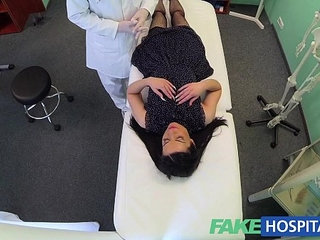 FakeHospital No health insurance causes shy patient to pay   shy