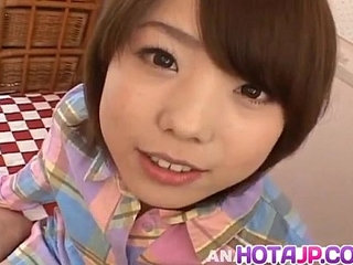 Morimoto Miku gets cock in mouth and in hairy fingered snatch | cockhairymouth