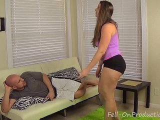 Big booty sister madisin lee wrestles then fucks step brother | bootysisterstepbrother