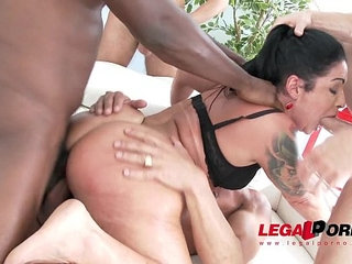 Monster booty monica santiago street pickup with rough double anal vaginal | analbootydoublemonster cockpickuprough