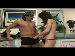 Horny Niece Gets her Uncles Cock in The Kitchen | cockhornykitchenuncle