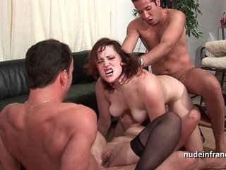 FFMM Two hotties hard anal and double penetration fucking in foursome orgy | 4someanaldoublehottieorgy